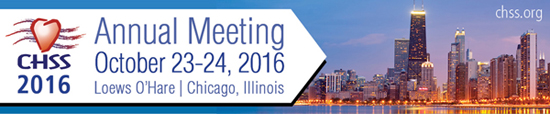 CHSS 2016 Annual Meeting, Otober 23-24, 2016, Loews O'Hare, Chicago, Illinois